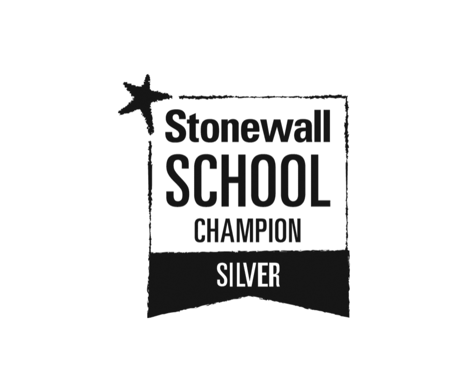 We've been awarded a Stonewall Silver School Champions award